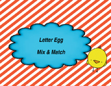 Letter Eggs- A Matching Game