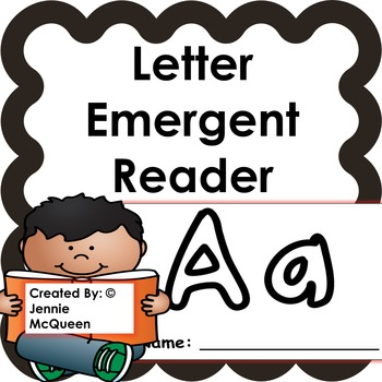 Letter Emergent Reader: Aa-PRINT AND GO!