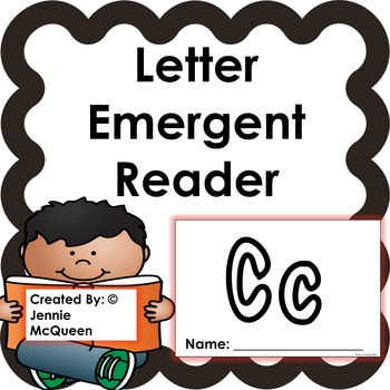 Letter Emergent Reader: Cc - PRINT AND GO!