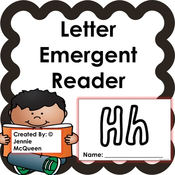 Letter Emergent Reader: Hh  - PRINT AND GO!