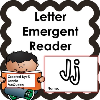 Letter Emergent Reader: Jj - PRINT AND GO!