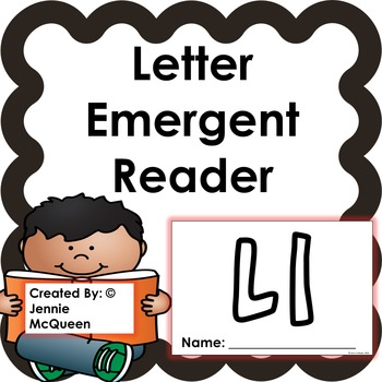 Letter Emergent Reader: Ll - PRINT AND GO!
