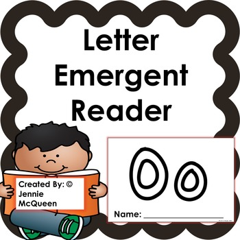 Letter Emergent Reader: Oo - PRINT AND GO!