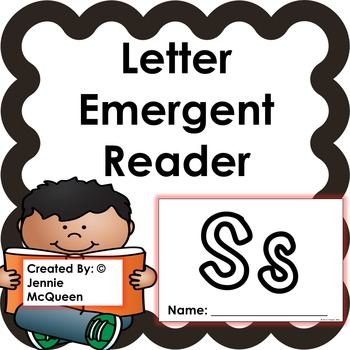 Letter Emergent Reader: Ss - PRINT AND GO!