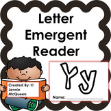 Letter Emergent Reader: Yy - PRINT AND GO!