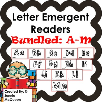 Letter Emergent Readers: Aa-Mm Bundle
