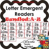 Letter Emergent Readers: Aa-Zz Mega-Bundle