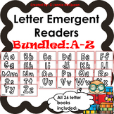 Letter Emergent Readers: Aa-Zz Mega-Bundle