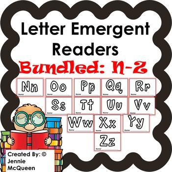 Letter Emergent Readers: Nn-Zz Bundle