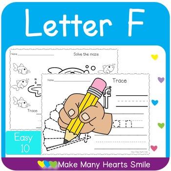 Easy 10: Letter F