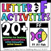 Letter F Activities   Alphabet   Letter Recognition, Formation, and Sounds