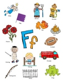Letter F Activity Packet