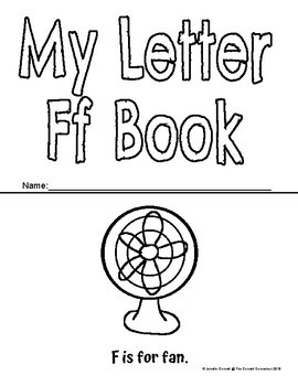 Letter F Activity and Center Packet
