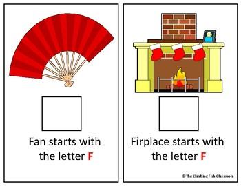 Letter 'F' Adapted Book