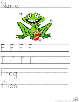 Letter F Alliteration Set