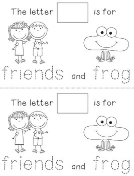 Letter F: Alphabet Activity Book