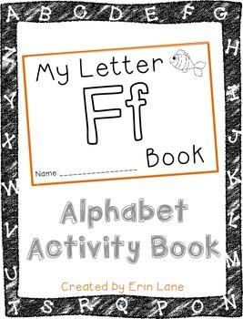 Letter F: Alphabet Activity Book