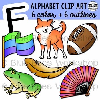 Letter F Clip Art Alphabet / Beginning Sound F