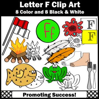 Letter F Clipart, Alphabet Clip Art, Letter Sounds SPS