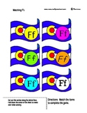 Letter F - BASIC Alphabet Curriculum for Preschool and Kindergarten