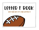 Letter F Book: Handwriting Practice