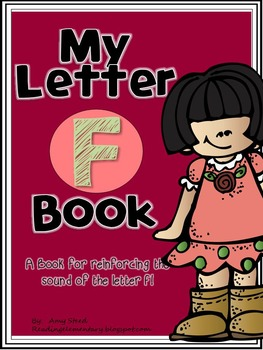 Letter F Book of Beginning Sounds-Emergent Reader w/Running Record-CCSS Aligned