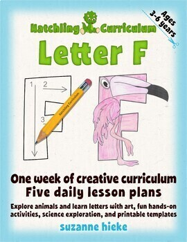 Letter F Bundle: 1 Week Of Complete Curriculum Lessons