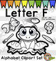 Alphabet Clip Art: Letter F Phonics Clipart Set - Clip Art