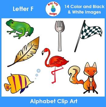Letter F Clip Art Set
