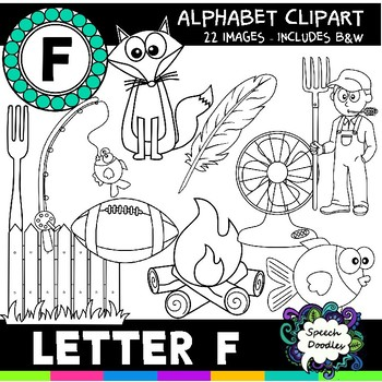 Letter F Clipart - 22 images! Personal or Commercial use