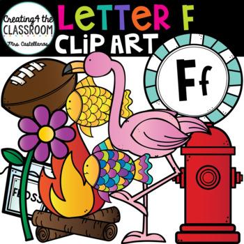 Letter F Clipart {Alphabet Clip art}