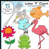 "Letter ""F"" Clipart Set {Tracy Sztanya Studios}"