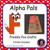 Letter F Craft: Freddie Fox Alpha Pal