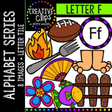 Letter F {Creative Clips Digital Clipart}