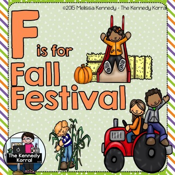 Letter F is for Fall Festival {Halloween}