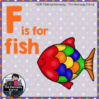 Letter F is for Fish