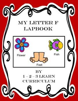 Letter F Lapbook