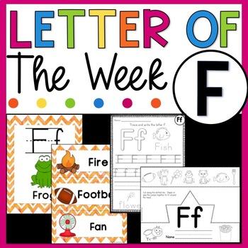 Letter F - Letter of the Week F - Letter of the Day F