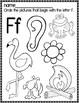 Letter F  Packet