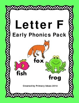 Letter F: Phonics Pack