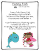 Letter F Poetry Kindergarten & First Grade