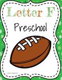 Letter F Preschool