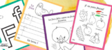 Letter F Printable Activities in Spanish for Kids