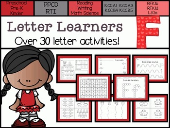 Letter Learners: Letter F
