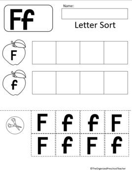 Letter F Unit