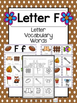 8 letter words using these 12 letters letter f vocabulary cards by the tutu teachers 18827