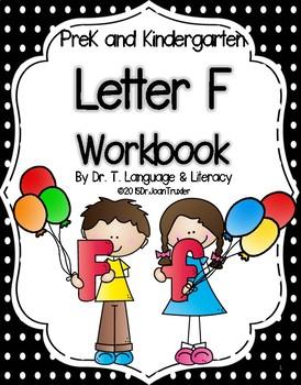 Letter of the Week: Letter F Workbook (PreK & Kindergarten)