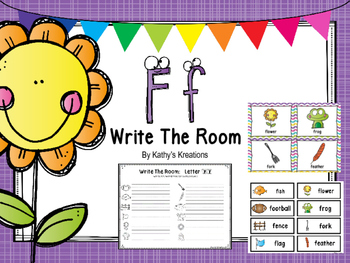 Letter F Write The Room