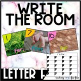 Letter F Write the Room- Literacy Station