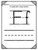 Aprendiendo la letra F